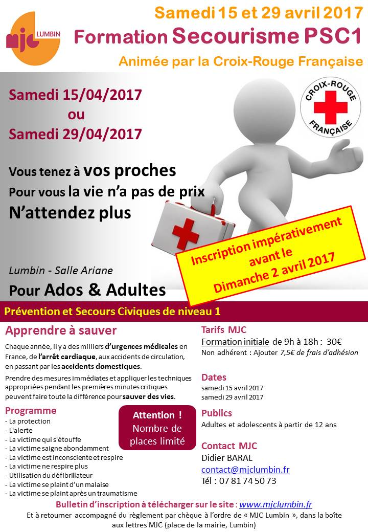 2017 04 StagePSC1 secourisme